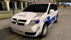 Dodge Grand Caravan Turkish Police