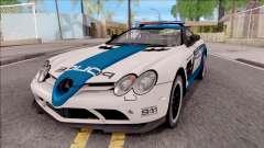 Mercedes-Benz McLaren 722 High Speed Police para GTA San Andreas
