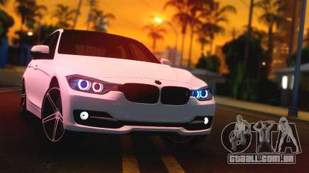 BMW F30 335i Light Tuning para GTA San Andreas