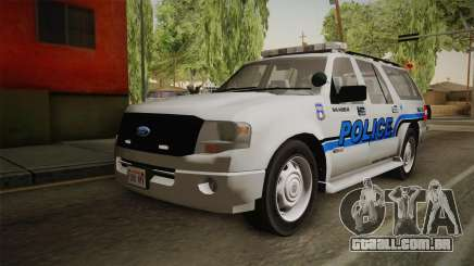 Ford Expedition 2013 SAWPD para GTA San Andreas