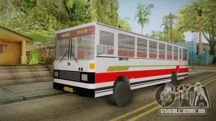 Huanghai DD6111CT Suburban Bus Red para GTA San Andreas