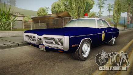 Plymouth Fury 1969 Kansas State Police para GTA San Andreas
