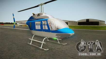 Bell 206 NYPD Helicopter para GTA San Andreas