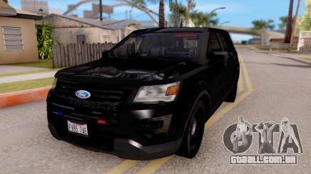 Ford Explorer FBI para GTA San Andreas
