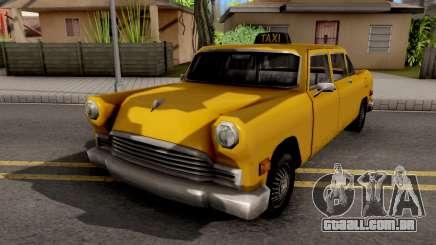Cabbie New Texture para GTA San Andreas