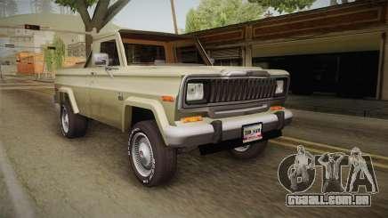 Jeep J-10 Comanche para GTA San Andreas