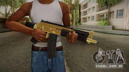 AK-12 Gold para GTA San Andreas