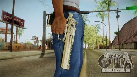 Desert Eagle 24k Gold para GTA San Andreas