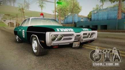 Plymouth Fury I NYPD para GTA San Andreas