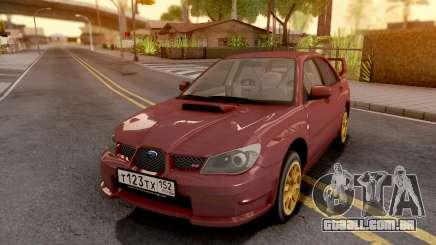 Subaru Impreza WRX STI 2006 para GTA San Andreas