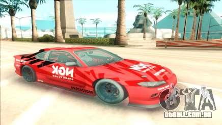 Nissan Silvia S15 NGK Red para GTA San Andreas