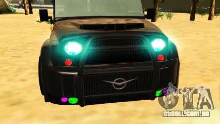 Nova cor para os faróis para GTA San Andreas