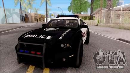 Ford Mustang GT High Speed Police para GTA San Andreas