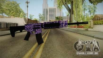 Tiger Violet M4 para GTA San Andreas