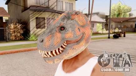 O Dinossauro Máscara para GTA San Andreas