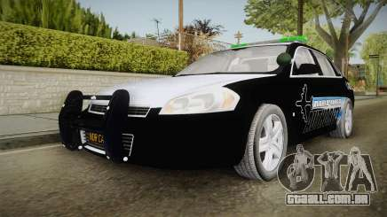 Chevrolet Impala 2009 Airport Authority para GTA San Andreas
