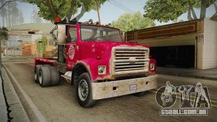 GTA 5 Vapid Towtruck Large Worn para GTA San Andreas