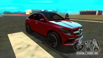 Mercedes-Benz GLE 63 AMG 2017 para GTA San Andreas