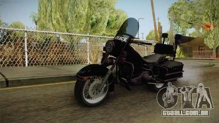 GTA 4 Police Bike para GTA San Andreas
