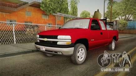 Chevrolet Silverado Work Truck 2001 para GTA San Andreas