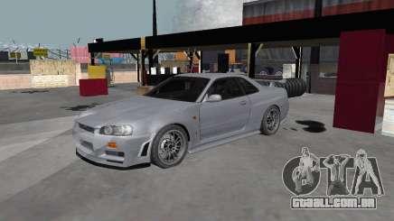 Nissan Skyline R34 Z-tune para GTA San Andreas