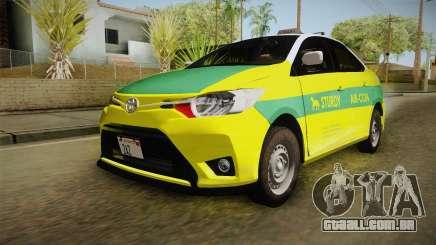 Toyota Vios Sturdy Philippine Taxi 2014 para GTA San Andreas