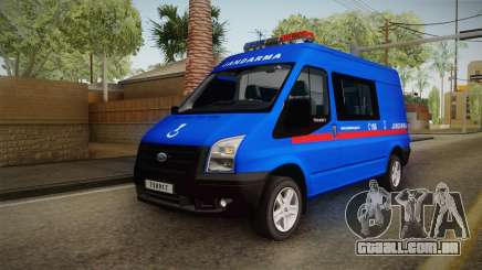 Ford Transit Turkish Gendarmerie para GTA San Andreas