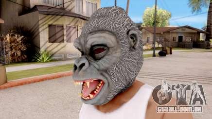 A Máscara De Gorila para GTA San Andreas