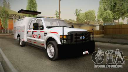 Ford F-250 2012 SA DOT Highway Helper para GTA San Andreas