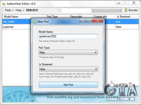 GTA 5 AddonPeds 3.0 sexta imagem de tela