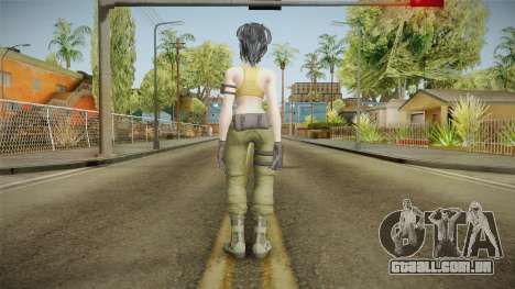 The King of Fighters XIV - Leona para GTA San Andreas