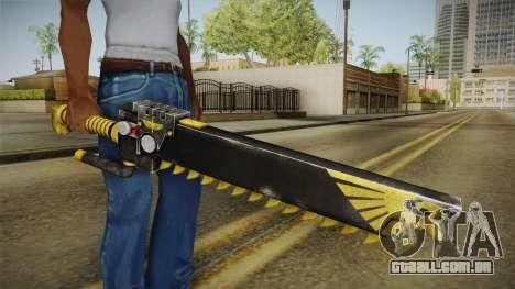 W40K: Deathwatch Chain Sword v2 para GTA San Andreas