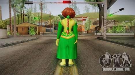 Princess Fiona Ogre para GTA San Andreas