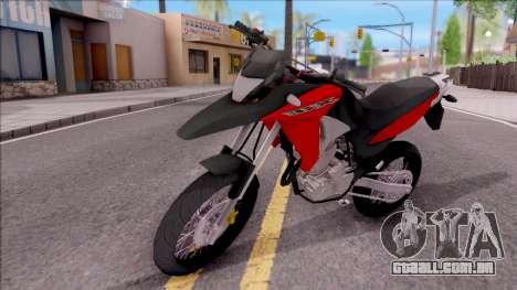 Honda XRE 300 para GTA San Andreas