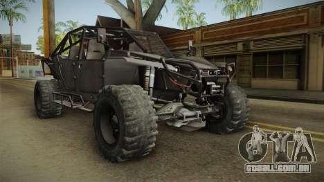 Ghost Recon Wildlands - Unidad AMV No Minigun v2 para GTA San Andreas vista direita