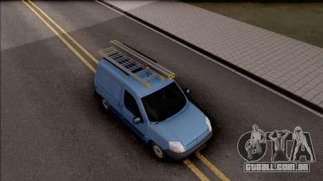 Citroen Berlingo Mk2 Van para GTA San Andreas vista direita