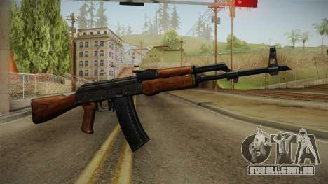 AKM Assault Rifle v2 para GTA San Andreas segunda tela