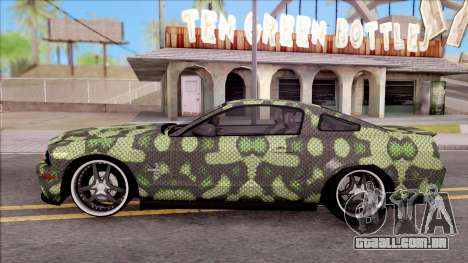 Ford Mustang Shelby GT500KR Super Snake v2 para GTA San Andreas
