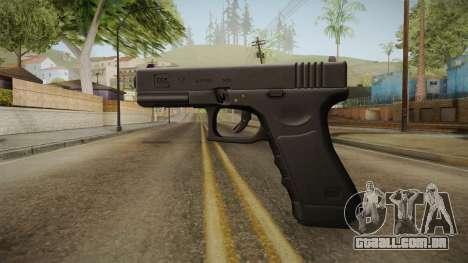 Glock 17 3 Dot Sight Ultraviolet Purple para GTA San Andreas segunda tela