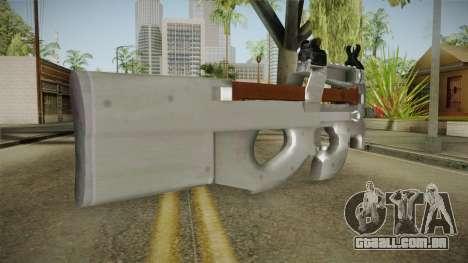 Chrome P90 para GTA San Andreas segunda tela