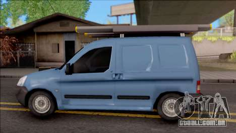 Citroen Berlingo Mk2 Van para GTA San Andreas esquerda vista