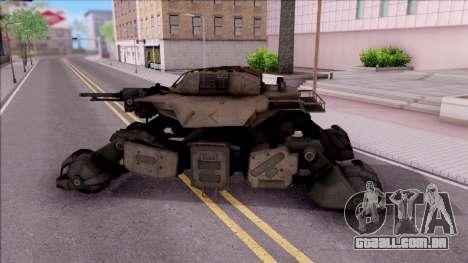 Mobile Art-Installation COD: Advance Warfare para GTA San Andreas esquerda vista