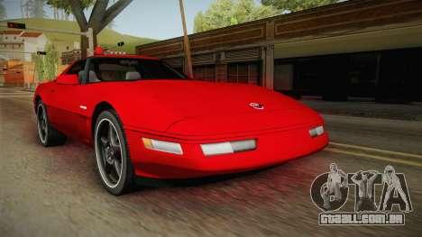 Chevrolet Corvette C4 FBI 1996 para GTA San Andreas