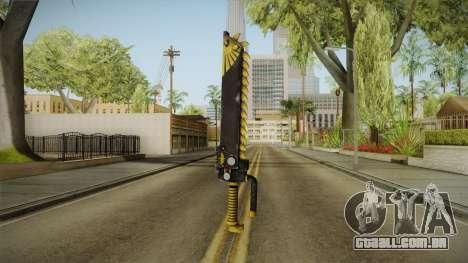 W40K: Deathwatch Chain Sword v2 para GTA San Andreas segunda tela