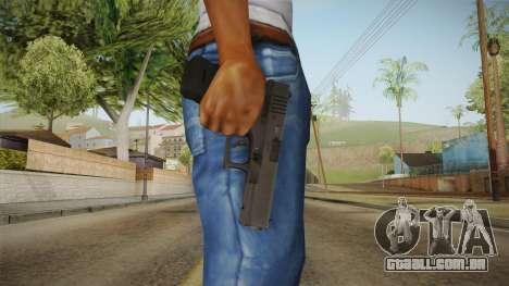 Glock 17 3 Dot Sight Ultraviolet Purple para GTA San Andreas terceira tela