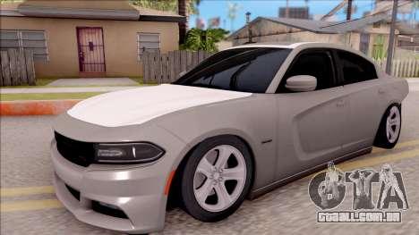 Dodge Charger RT 2016 para GTA San Andreas