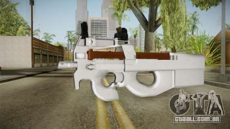 Chrome P90 para GTA San Andreas