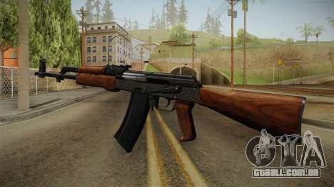 AKM Assault Rifle v2 para GTA San Andreas terceira tela