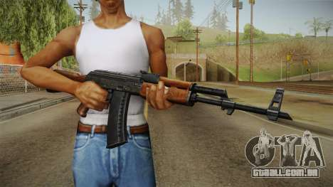 AKM Assault Rifle v2 para GTA San Andreas