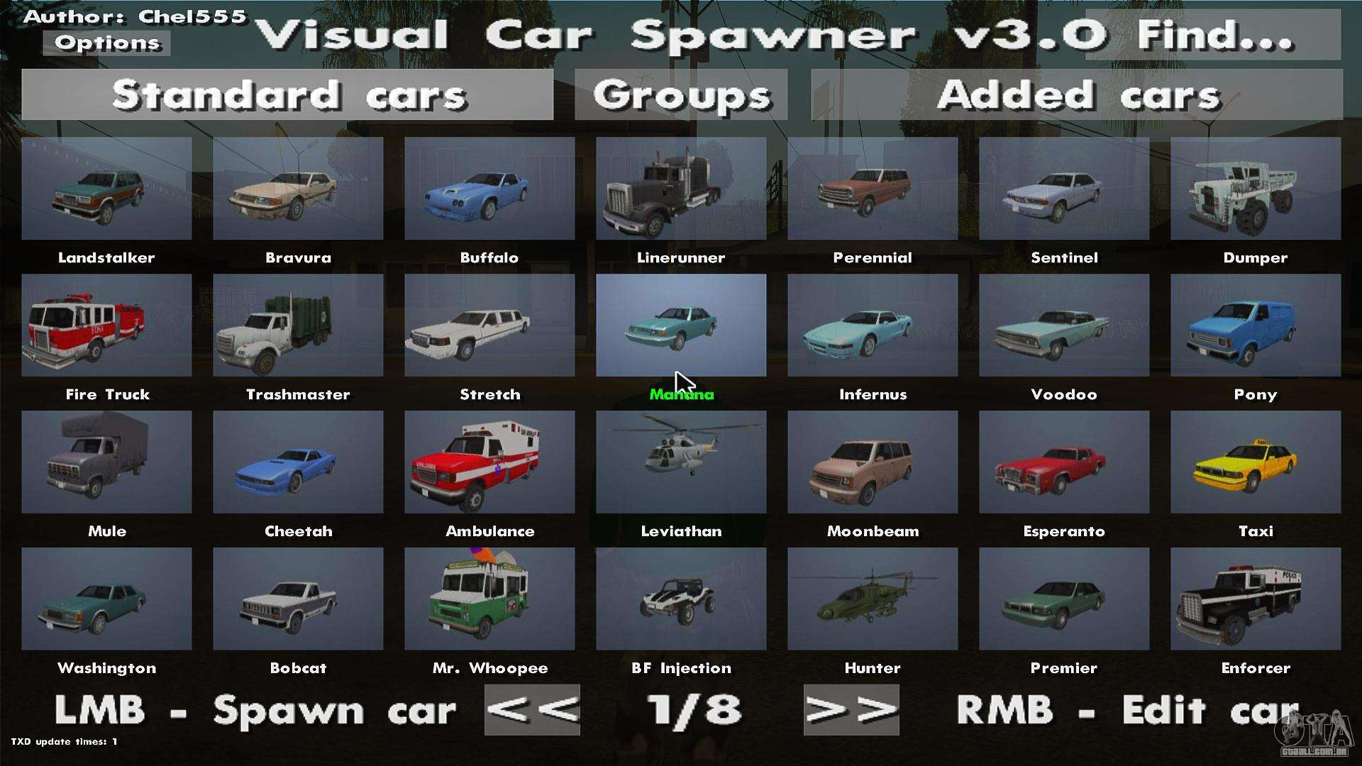 Mod Gta Sa Pc Car Spawner